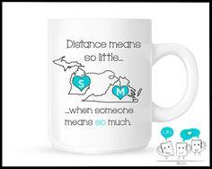 Custom Personalized Best Friends Saying Goodbye Mug Moving Away Unique Creative Coffee Mug Friendship mug set