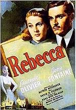Classic Hitchcock movie . . . I think I have seen most of Hitchcock's movies.  A very talented director.  Rebecca 1940 with Joan Fontaine and Laurence Olivier (was married to Vivien Leigh in real life)