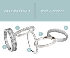 contemporary wedding rings from astley clarke