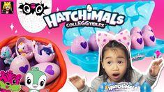 Let's unbox the new 2018 Hatchimals Season 2 carton! The Hatchimals Season 2 carton contains 10 season 2 eggs (Pink) and two bonus hatchimals. Season 2, Kids Toys, Cute, Pink, Watch, Childhood Toys, Clock, Children Toys, Kawaii