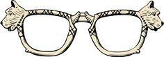 Scotty dog glasses