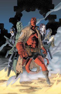 John Cassaday - Hellboy and BPRD