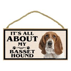 Imagine This Wood Breed Sign, It's All About My Basset >> Additional details at the pin image, click it  : Dog Memorials