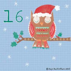 Advent Calendar Day 16, Faye Buckingham