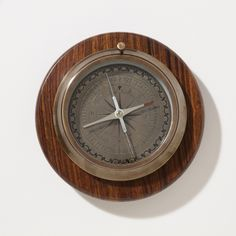 Compass with Wooden Base | World Market