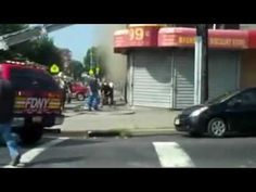 FDNY 4 Alarm Fire W/ Firefighter Down and Rescue