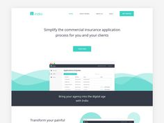 #MOJi Design# Minimal Homepage [Animations] (by @james-alonso)