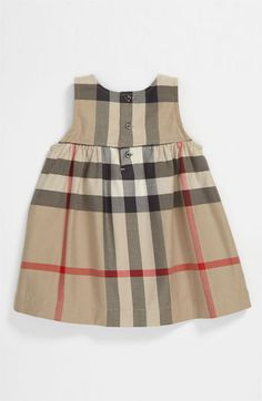 05bb9b32634c Burberry Dress (Infant) available at  Nordstrom Burberry Kids