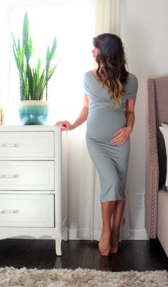 Absolutely gorgeous maternity wrap dress. Perfect for a baby shower. Click this pin to find it on Etsy!   maternity dress   maternity dress   maternity outfit   maternity gown   maternity clothes   maternity style   maternity wardrobe   #affiliate #maternitydress