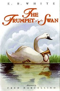 The Trumpet of the Swan by E. B. White https://www.amazon.com/dp/006028935X/ref=cm_sw_r_pi_dp_x_M9mJyb989X0DE