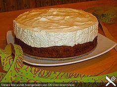 Fantakuchen Fanta cake recipe for springform pan Coffee Recipes, Pie Recipes, Baking Recipes, Dessert Recipes, No Bake Chocolate Desserts, No Bake Desserts, Galette Des Rois Recipe, German Cake, Cakes And More