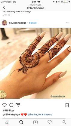 Best Henna Brand for Tattoos . Best Henna Brand for Tattoos . Mehndi Designs For Fingers, Mehndi Art Designs, Latest Mehndi Designs, Simple Mehndi Designs, Henna Tattoo Designs, Finger Mehendi Designs, Henna Tatoos, Mehndi Tattoo, Henna Art