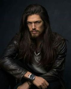 The ultimate long haired guys site. Male Face, Attractive Men, Beard Styles, Good Looking Men, Belle Photo, Gorgeous Men, Character Inspiration, How To Look Better, Hair Cuts