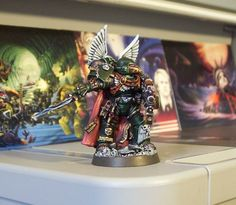Pro Painted Warhammer 40K Dark Angels Chapter Masters Space Marine Commission GW | eBay