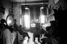 Fritz Goro—Time & Life Pictures/Getty ImagesFamily watches TV, Chicago, 1954