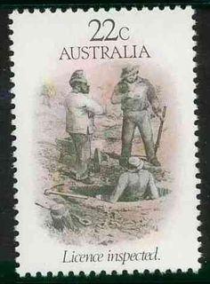AUSTRALIA post stamp