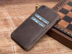 IPhone x cover iPhone leather cover iPhone X leather case Iphone Wallet Case, Phone Cases, Leather Cover, Shopping, Etsy, Phone Case