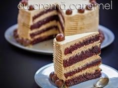 Tort de ciocolata cu crema caramel - imagine 1 mare Romanian Desserts, Romanian Food, Serbian Recipes, Hungarian Recipes, Sweets Recipes, Baking Recipes, Cake Receipe, Creme Mascarpone, Creme Caramel