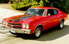 """Chevrolet Chevelle, 1969 was truly a """"golden"""" year."""