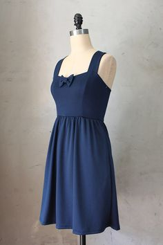 SWEETHEART NAVY Dark blue vintage inspired by FleetCollection