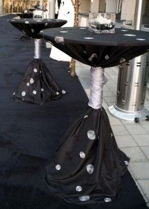 Love how this Cocktail Table is wrapped