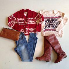 aztec sweaters #swoonboutique
