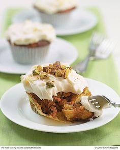 Carrot Cake Cupcakes | Cuisine at home eRecipes