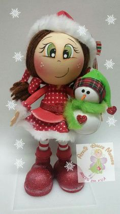 Foam Crafts, Diy And Crafts, 25 Days Of Christmas, Beaded Christmas Ornaments, Doll Painting, Wooden Pegs, Lalaloopsy, Paper Flowers, Creations