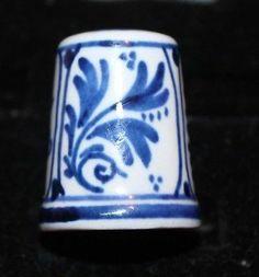 Royal Delft Porcelain Thimble