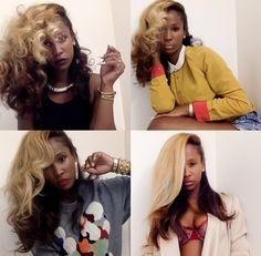 Shateria Moragne @ishateria - IG Love her hair