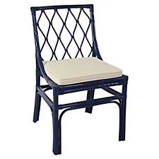 Brighton Side Chair, Navy
