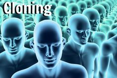 Cloning = The process of creating a genetically identical copy of an organism.