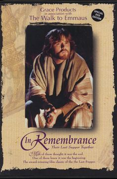 """Checkout the movie """"In Remembrance: Their Last Supper Together"""" on Christian Film Database: http://www.christianfilmdatabase.com/review/in-remembrance-their-last-supper-together/"""