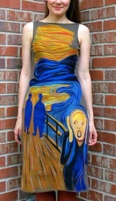 Cassie Stephens: DIY: Felting a Dress is a Scream!