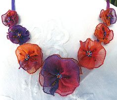 Garland Necklace - Venetian Sunset