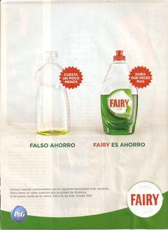 Publicidad Racional de FAIRY
