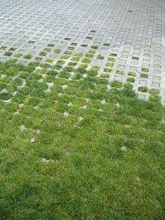 gradient diabeacon grasscrete