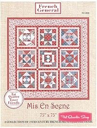 Mis En Scene Quilt Pattern Quilt Pattern by French General