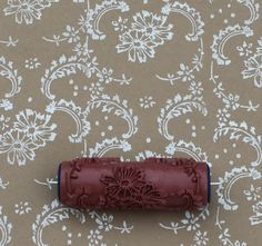 The ragged wren : How To- Patterned Paint Roller                                                                                                                                                                                 More