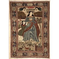 Antique Persian Kashan Area Rug 37638 - Area Rug area rugs