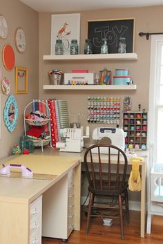 My Sewing Studio Tour-The Reveal! - Smashed Peas & Carrots