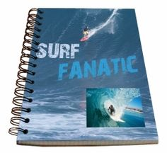 Spirálový blok A5 - SURF č. 21270 SPIR5 A5, Surfing, Office Supplies, Surf, Surfs Up, Surfs