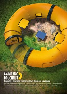 Camping Doughnut