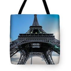 Anna Matveeva Tote Bag featuring the photograph Paris. Eiffel Tower. by Anna Matveeva #bag #EiffelTower #Paris
