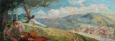 Nicolae Vermont, Primavara pe dealuri Vermont, Painting, Inspiration, Art, Biblical Inspiration, Art Background, Painting Art, Kunst, Paintings