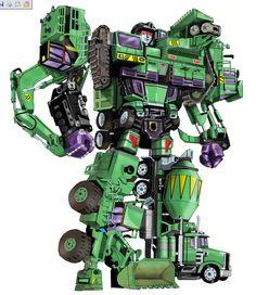 uuser's Devastator, part II ------Constructicons, combine and ...