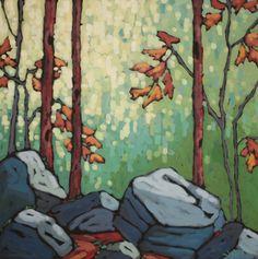Gemstone Forest by Jennifer Woodburn