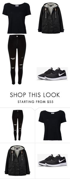 """""""Look salvação"""" by kettykimmich ❤ liked on Polyvore featuring River Island, Frame, Joules and NIKE"""