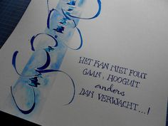 automatic pen, aquarel en gelstift