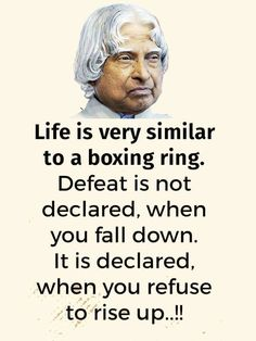 Abdul Kalam Quotations at QuoteTab Apj Quotes, Words Quotes, Motivational Quotes, Inspirational Quotes, Sport Quotes, Sayings, Life Lesson Quotes, Real Life Quotes, Reality Quotes